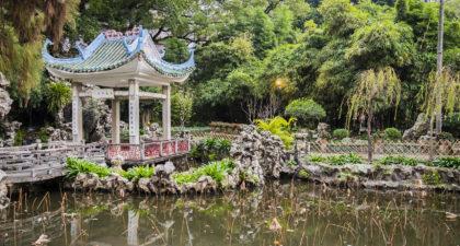 Lou Lim Ieoc Garden: Alcove