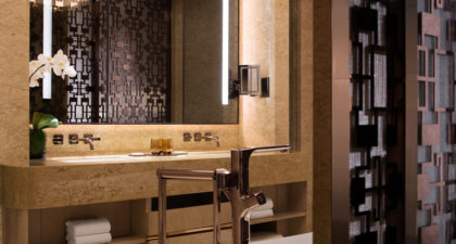 JW Marriott Hotel Macau: Basin at Room