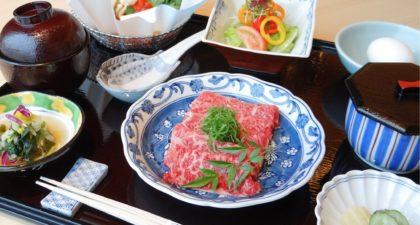 Yamazato: Beef in Sukiyaki Style