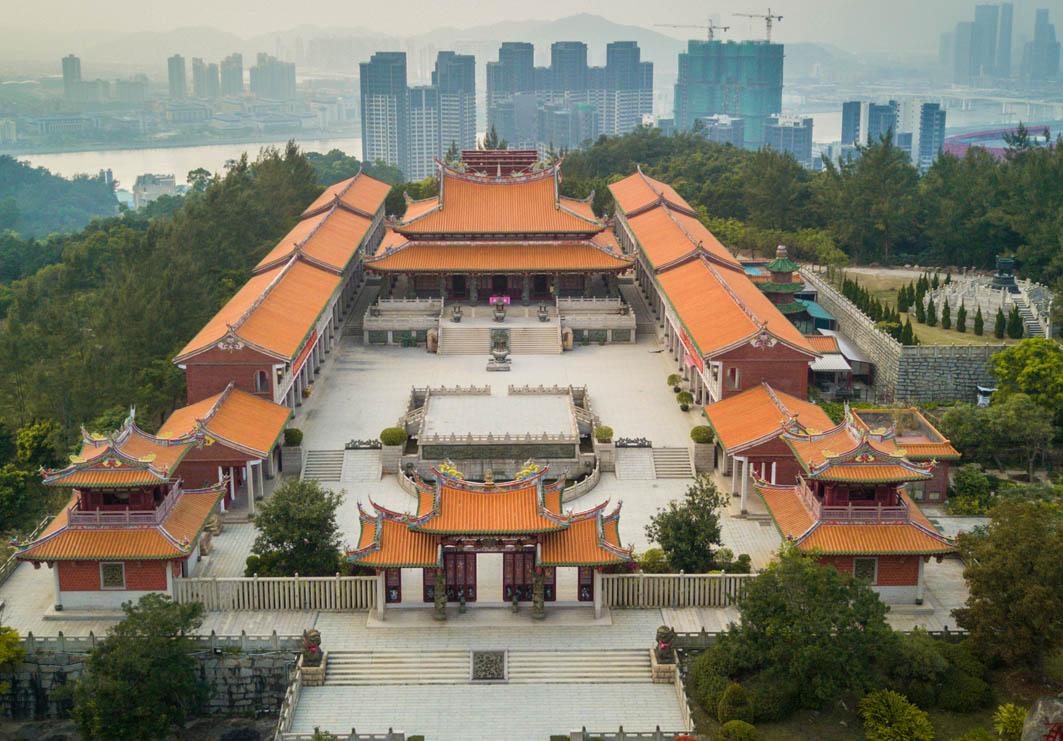 A-MA Cultural Village Macau: Birdview