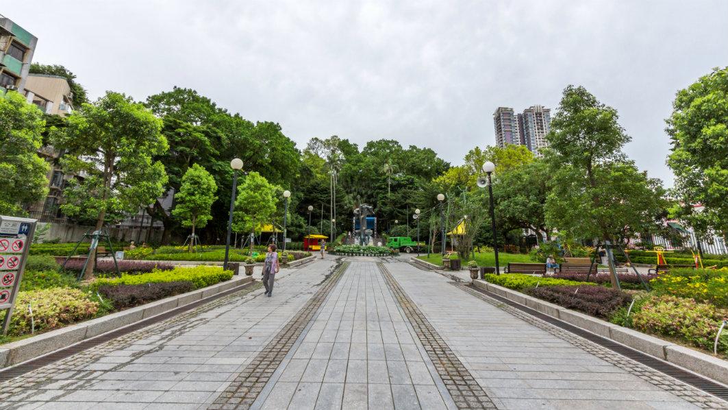 Macau: Camoes Garden