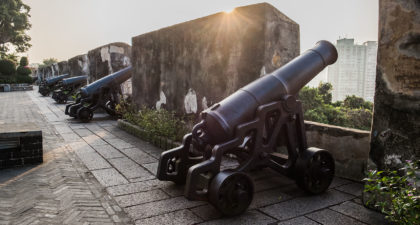 Mount Fortress: Cannon