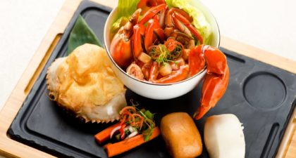 Terrace Restaurant: Chilli Crab