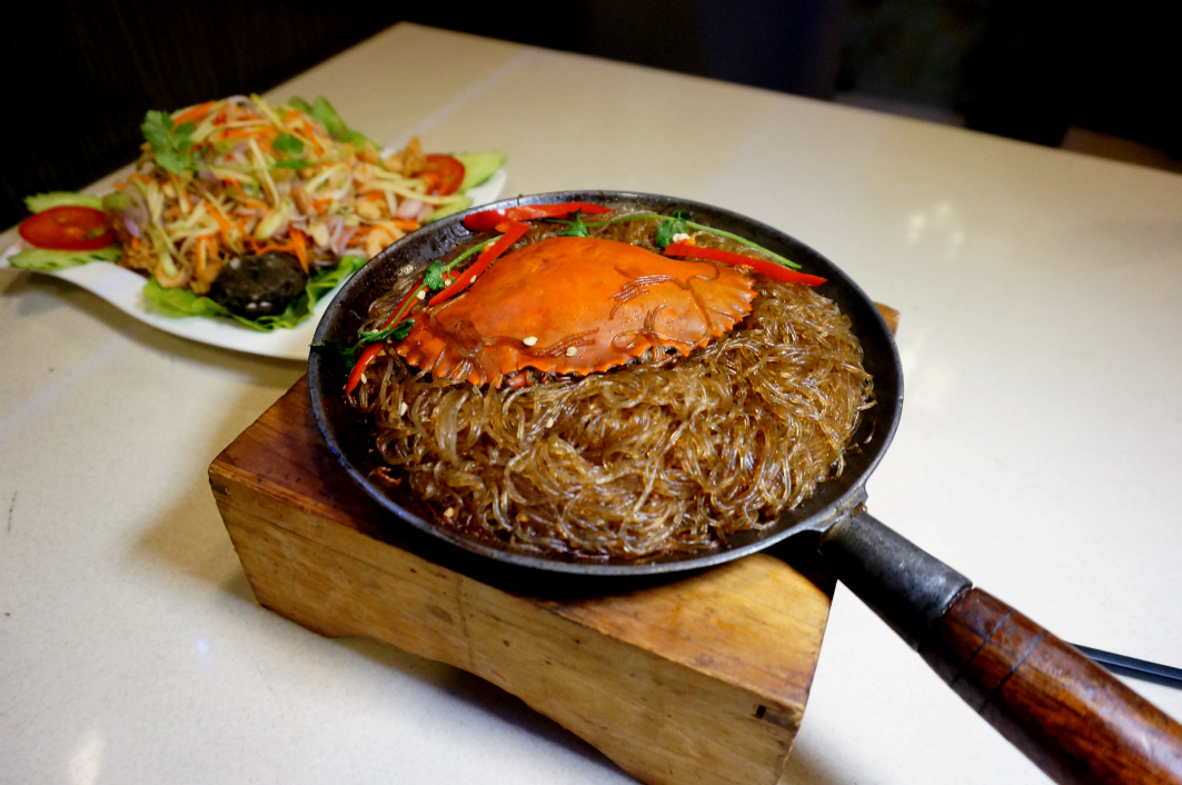San Thai Ouk Macau: Chinese Vermicelli with Crab