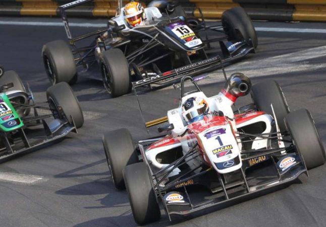 Macau Grand Prix: Close-up of Cars