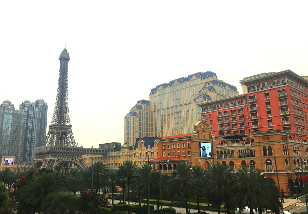 Macau: Eiffel Tower and the Parisian Macao