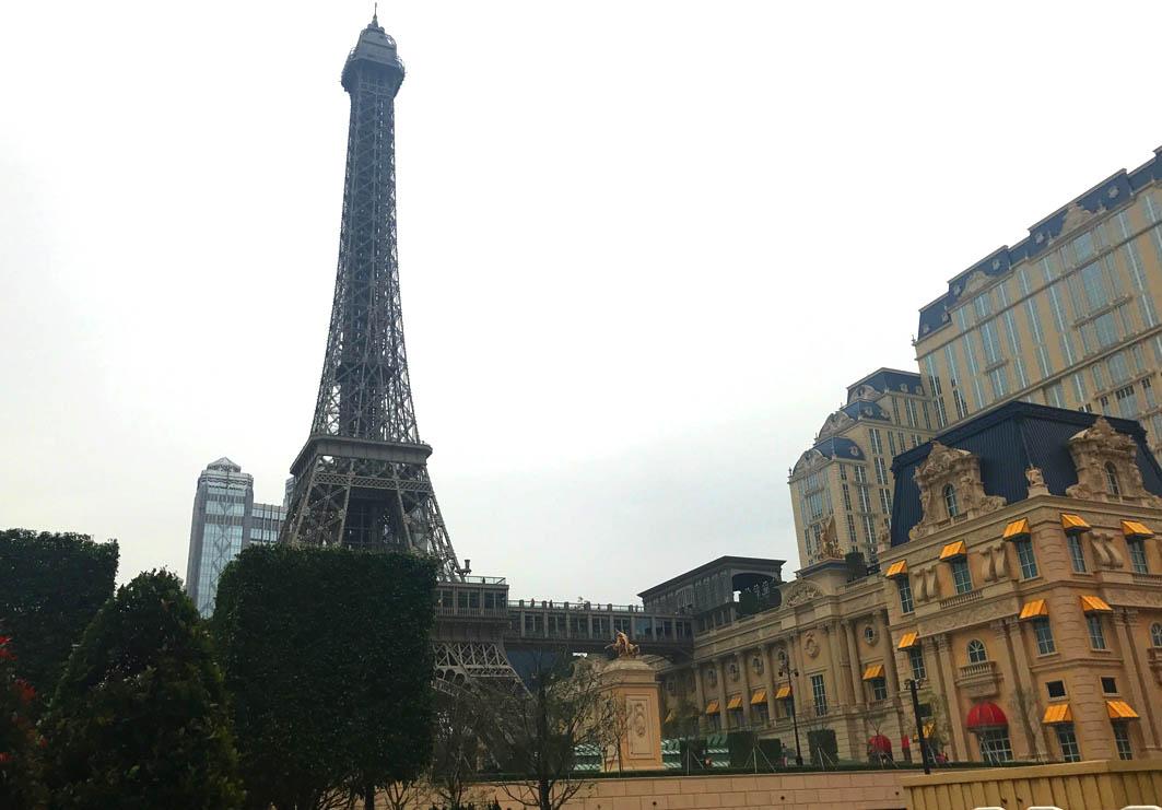 Macau: Eiffel Tower at Parisian Macao