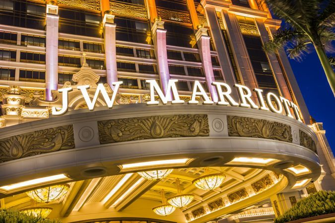 JW Marriott Hotel: Entrance