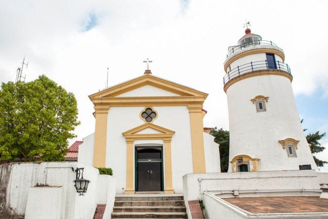 東望洋炮台及東望洋燈塔