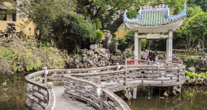 Lou Lim Ieoc Garden: Entrance