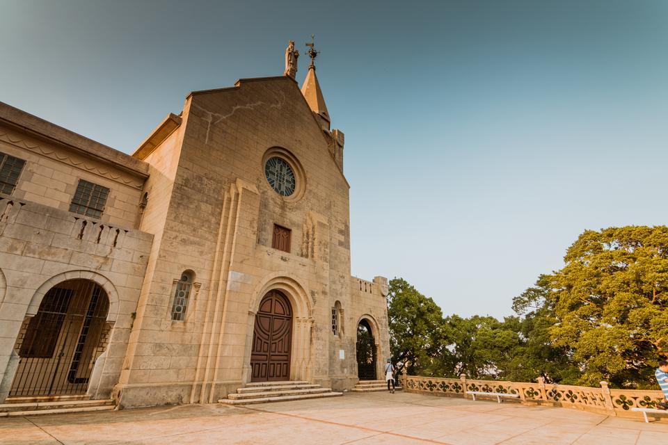 Chapel of Our Lady of Penha Macau: Entrance