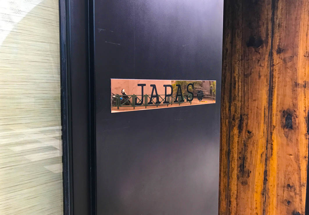 Japas in Macau: Entrance