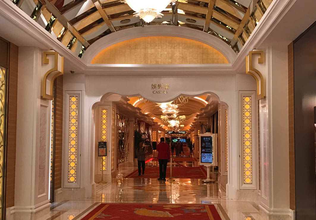 Wynn Palace Casino: Entrance