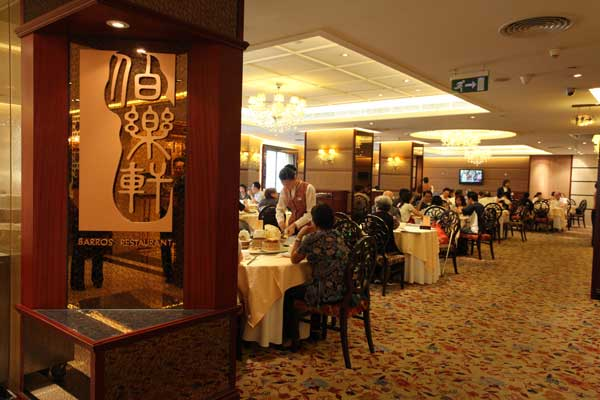 Taipa Square Hotel: Barros-Cantonese-Restaurant