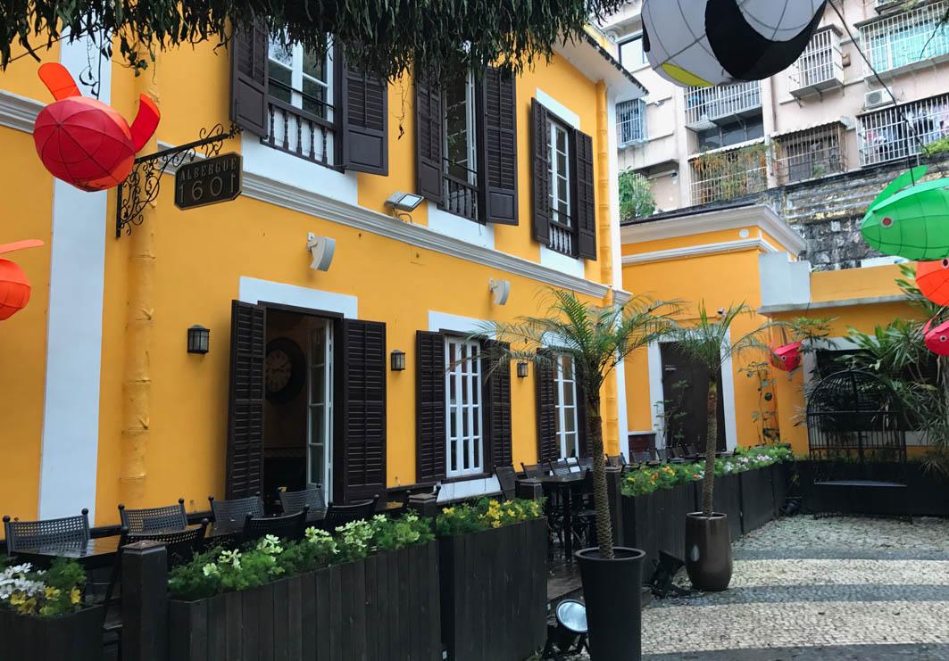 Albergue 1601 Macau: Exterior