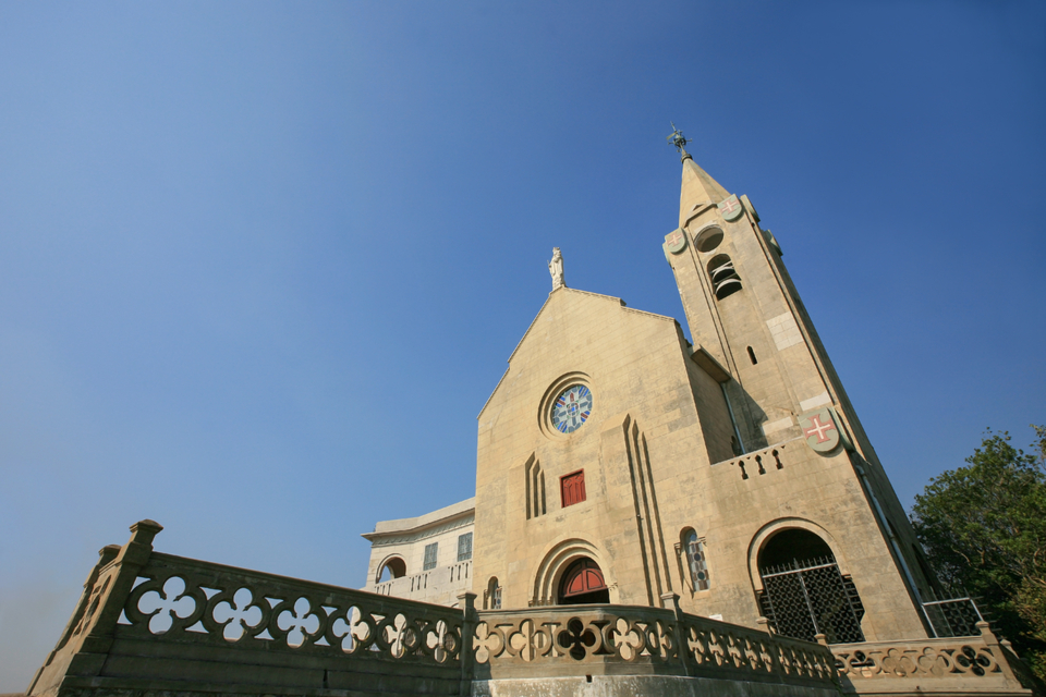 Chapel of Our Lady of Penha Macau: Exterior