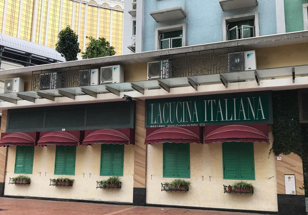 La Cucina Italiana Macau: Exterior