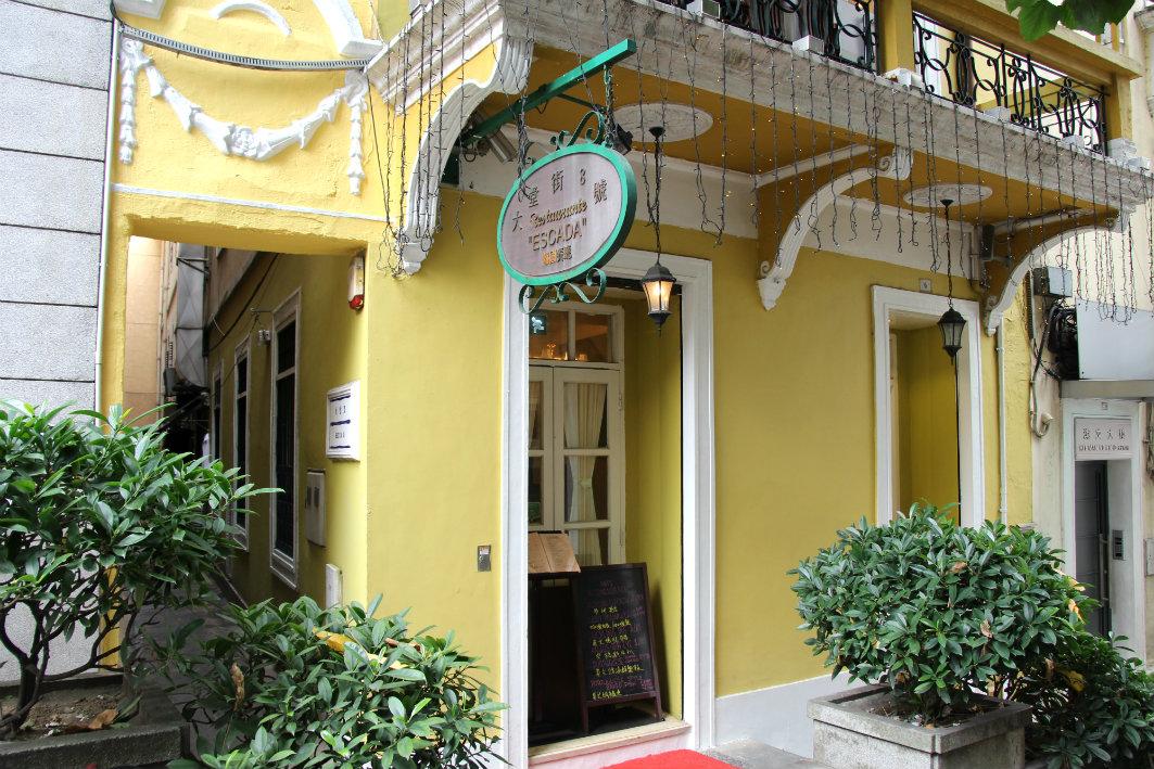 Restaurante Escada: Exterior