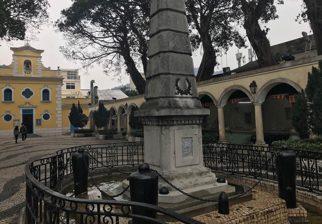 St. Francis Xavier Chapel Macau: Exterior