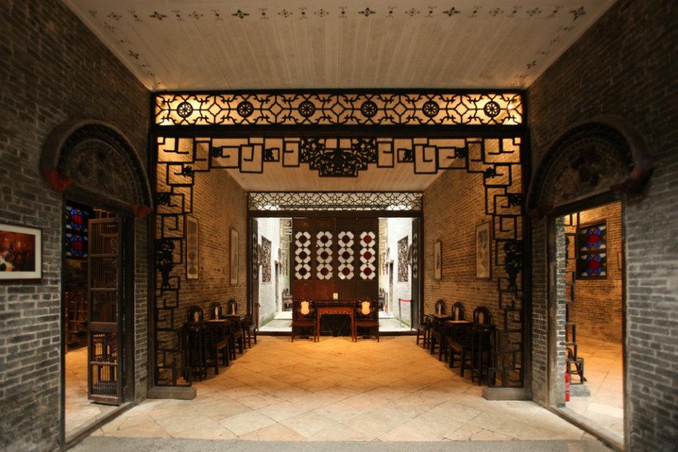 Lou Kau Mansion Macau: Foyer
