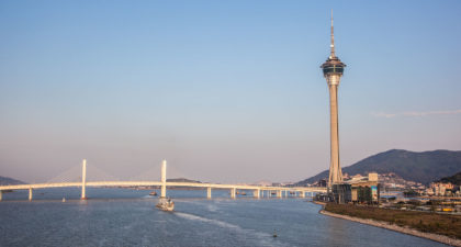 Macau Tower: Front View