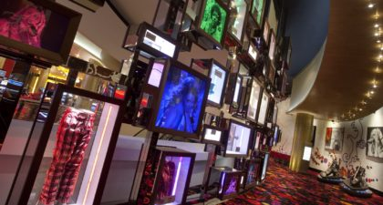 Hard Rock Hotel Gaming Area: Interior