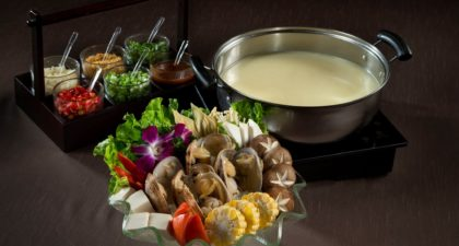 Broadway Food Street: Hot Pot with Home-Made Soy Milk