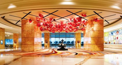 MGM Macau: Hotel Main Lobby