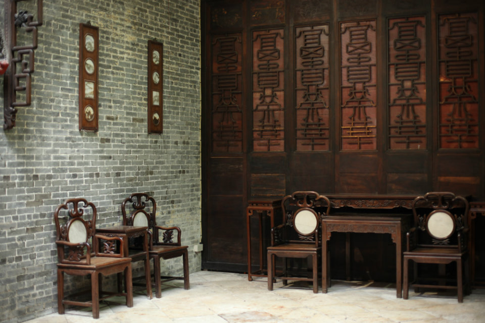 Lou Kau Mansion Macau: Interior