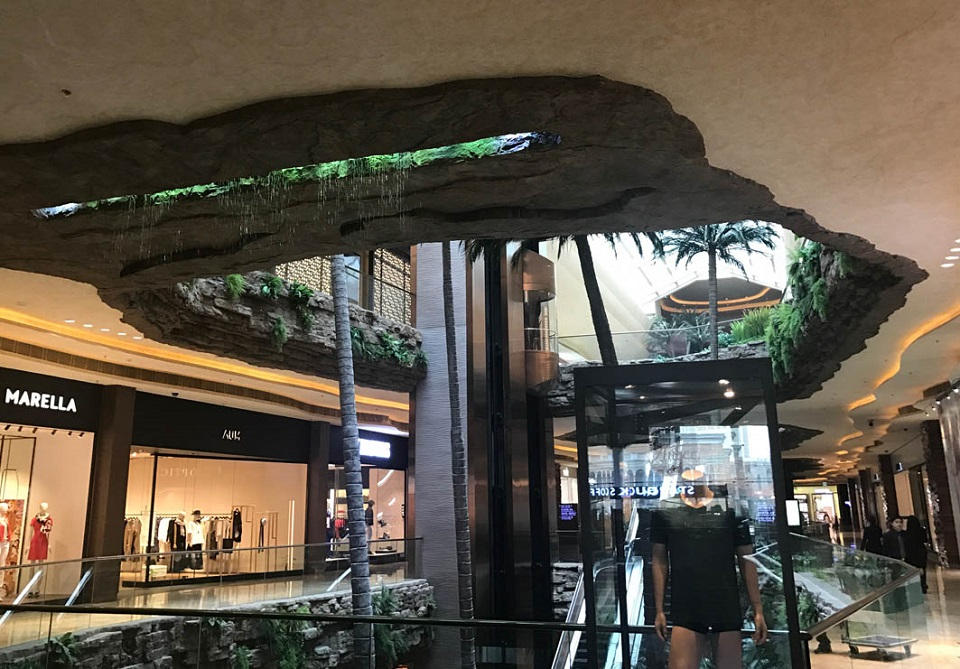 Shoppes at Cotai Central: Interior