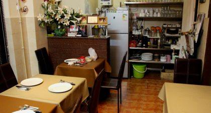 Macau: Interior of Cafe Flor Bela Macau