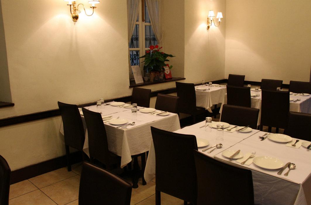 Restaurante Escada: Interior