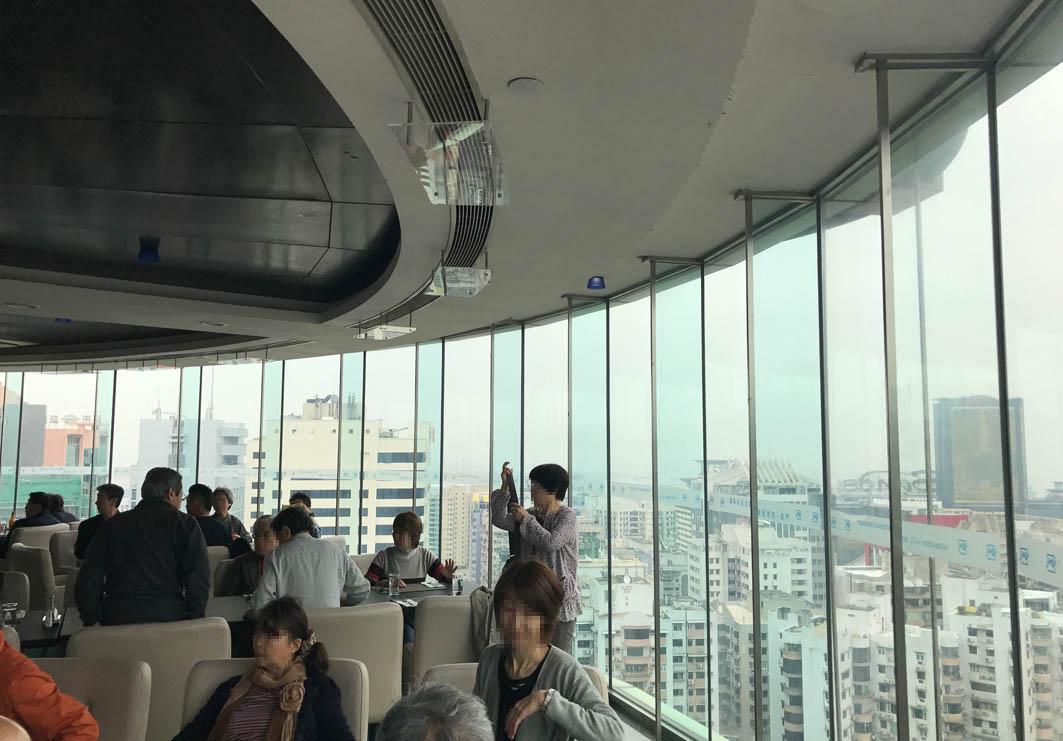 Rotunda Revolving Restaurant in Macau: Interior