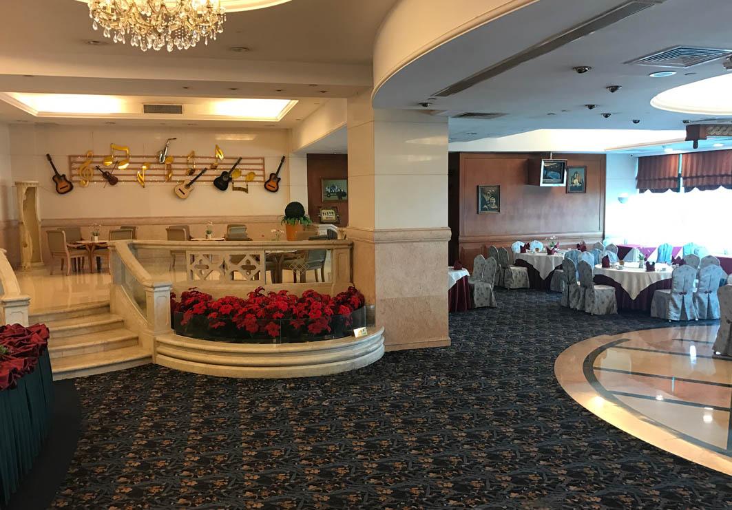 Seaview Restaurant Macau: Interior
