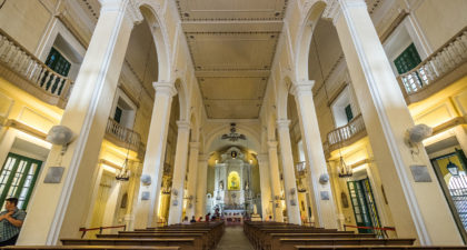 St. Dominic's Church: Interior