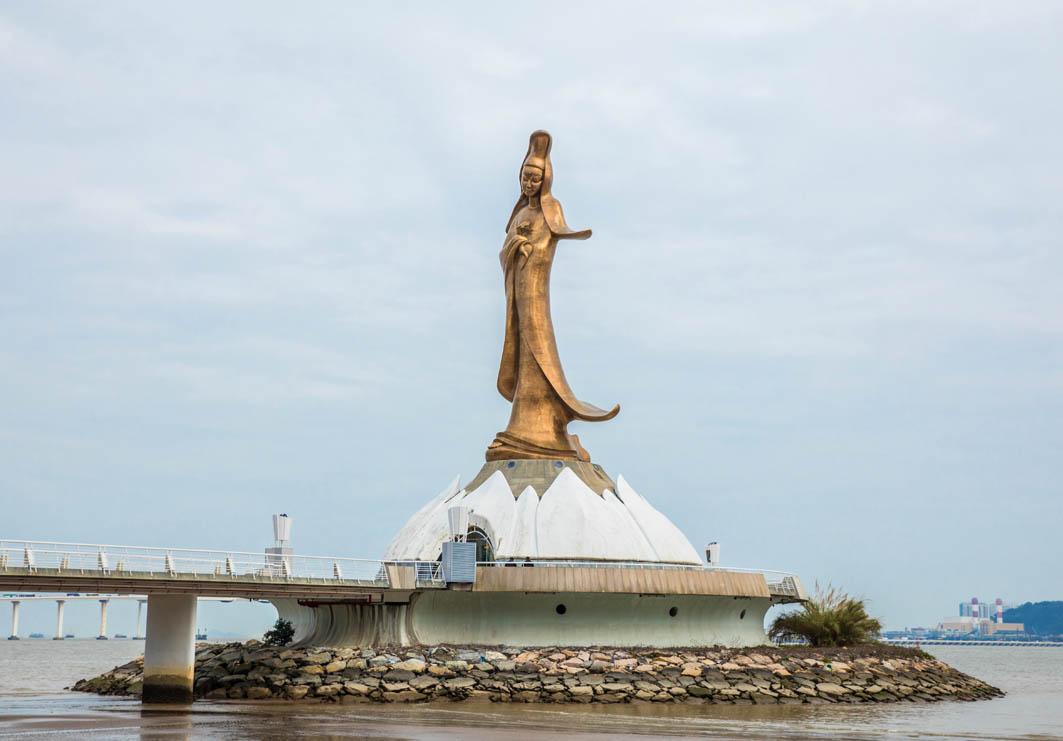 Macau: Kun Iam Statue