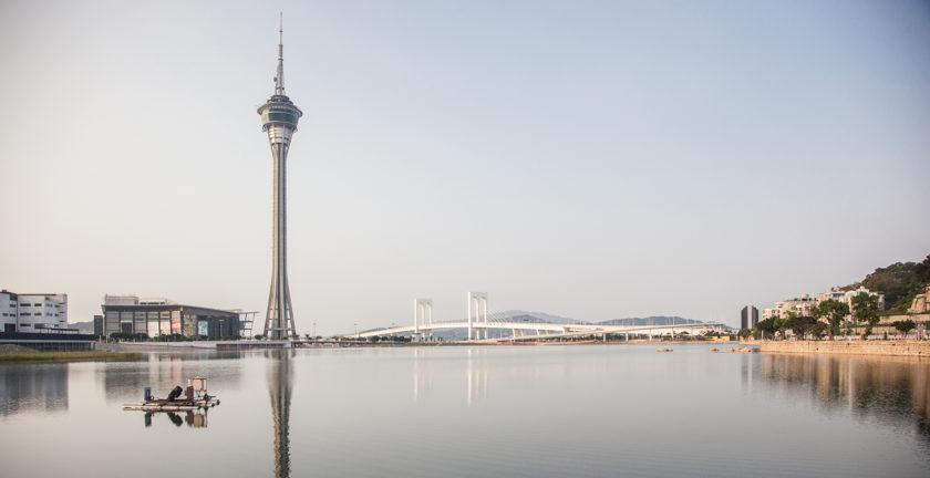 Macau Tower: Lake View