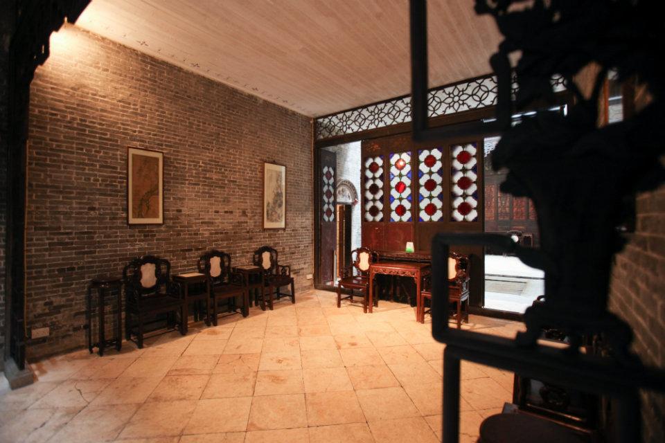 Living Room at Lou Kau Mansion Macau