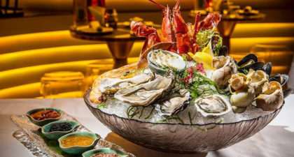 Sky 21 Bar & Restaurant: Mini Seafood Platter