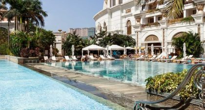 Galaxy Macau: Outdoor Heated Pool
