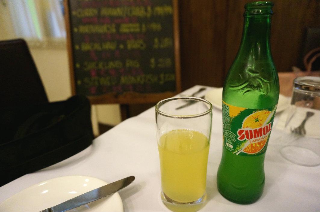 Restaurante Escada Macau: Passion Fruit Soda