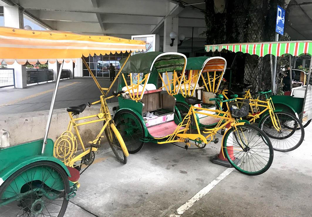 Macau: Pedicabs