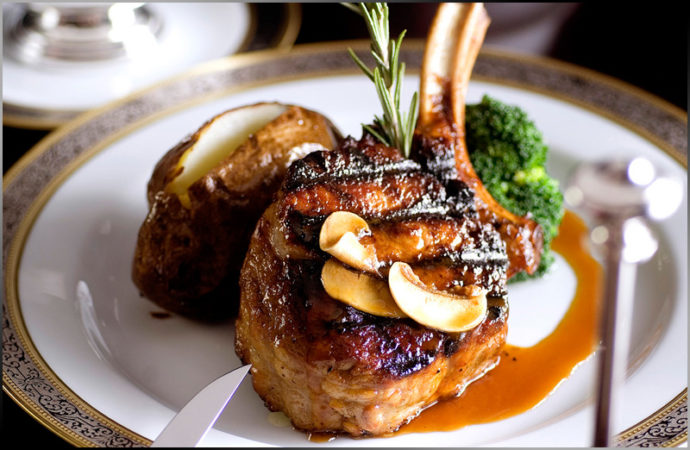The Kitchen: Prime Grade Lamb Chop