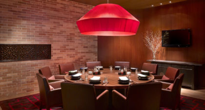 Beijing Kitchen: private dining room