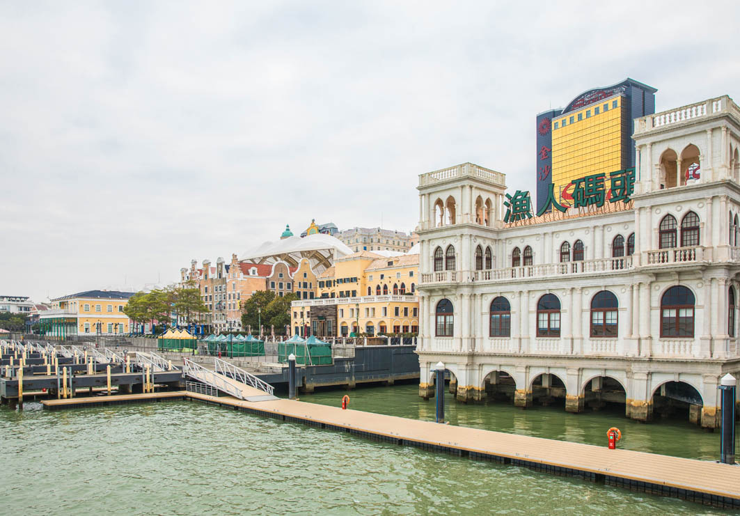 Fisherman's Wharf Macau: Promenade