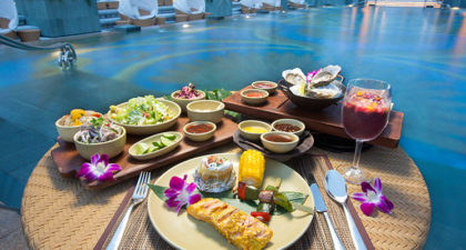 Cabana: Dine by the Poolside