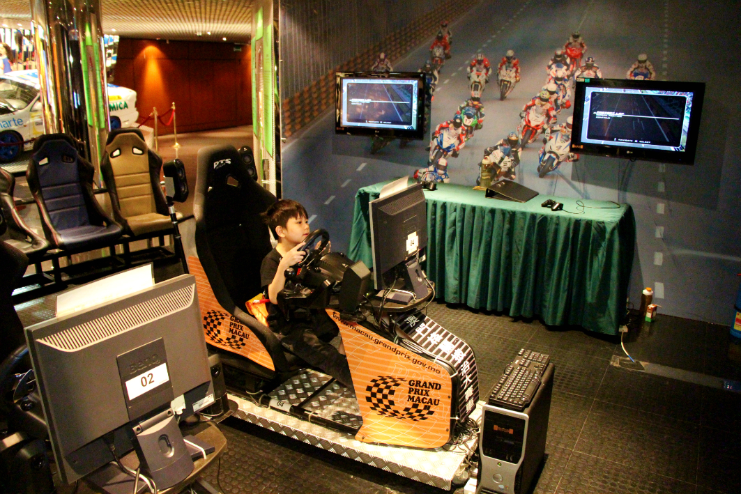 Grand Prix Museum in Macau: Racing Simulator