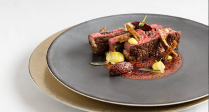 The-Manor: Seared Spanish Rib-Eye