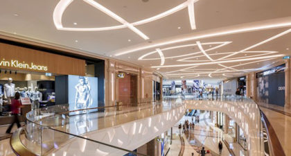 The Promenade Shops at Galaxy Macau: Second Floor