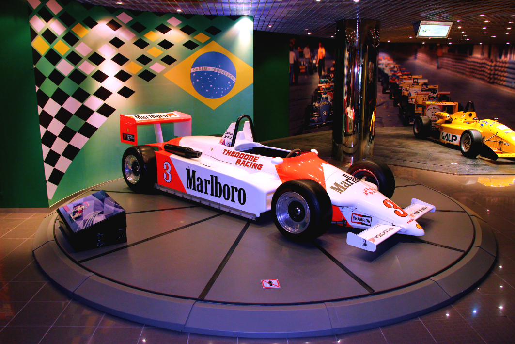 Grand Prix Museum in Macau: Senna's Car